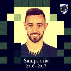 Bruno Fernandes  (Sampdoria) é o quinto reforço confirmado do Sporting para 2017/2018.