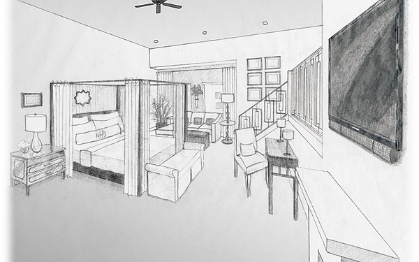 conceptual perspective of drawing See more ideas about architecture drawings, architectural sketches and  conceptual sketches  alex kaiser - perspective tutorial architecture no find  this pin.