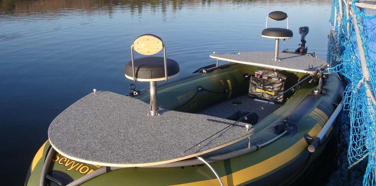 Sevykit kit para barco insufl vel inflatable boat kit for Fish hunter raft