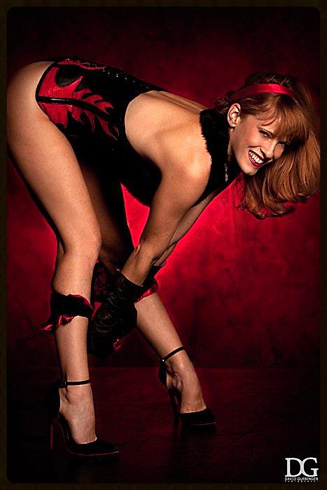 redhead fetish model
