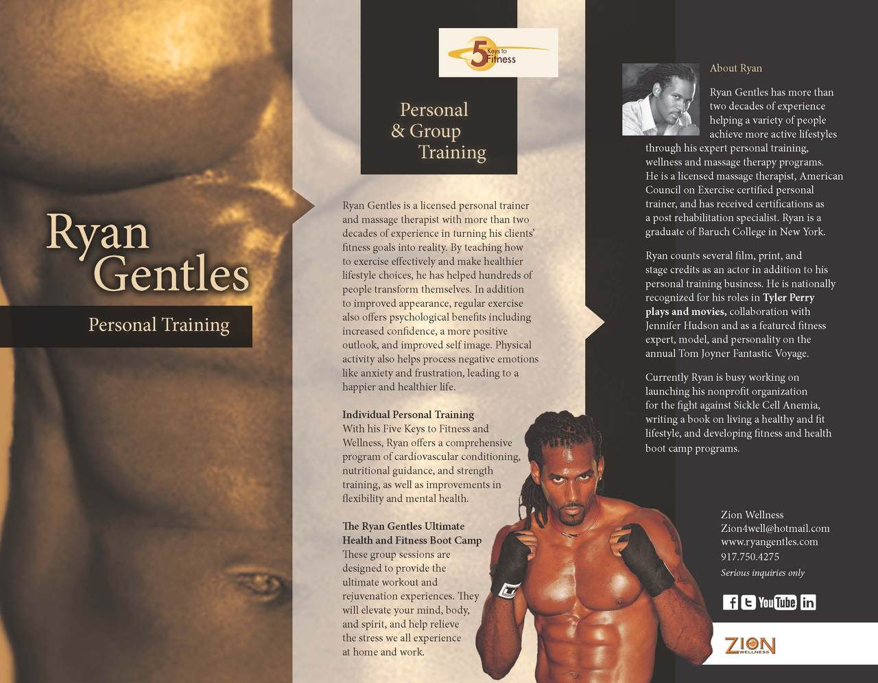 In home personal training business model