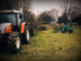 Holzbringung, Durchforstung, Lohnarbeiten