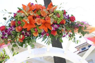 Top floral Piece