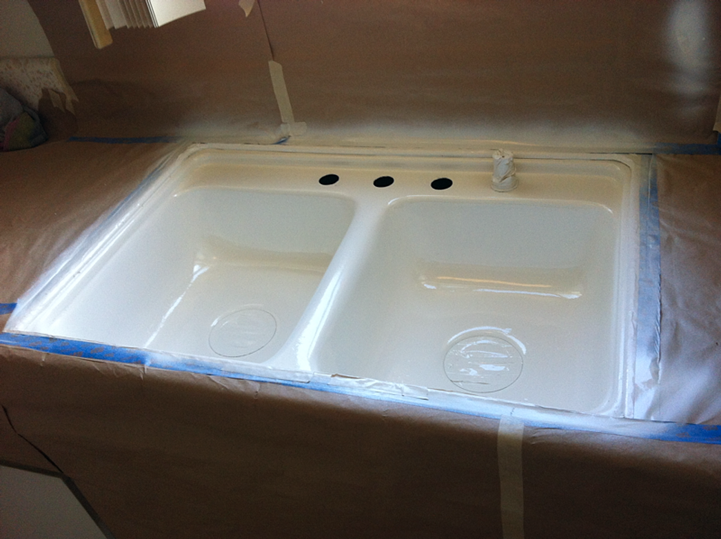 kitchen sink refinished - Kitchen Sink Refinishing