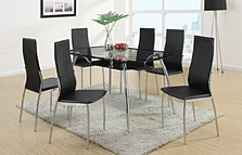 PDX2225 7pc Modern Dining Set