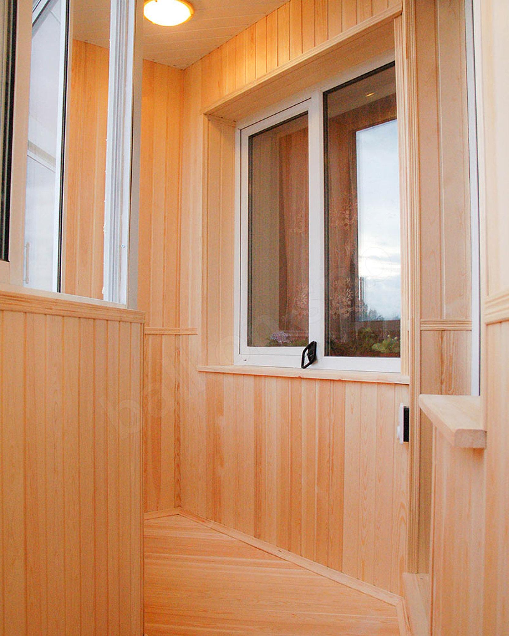 Обшивка балконов / остекление балконов / услуги саранск.
