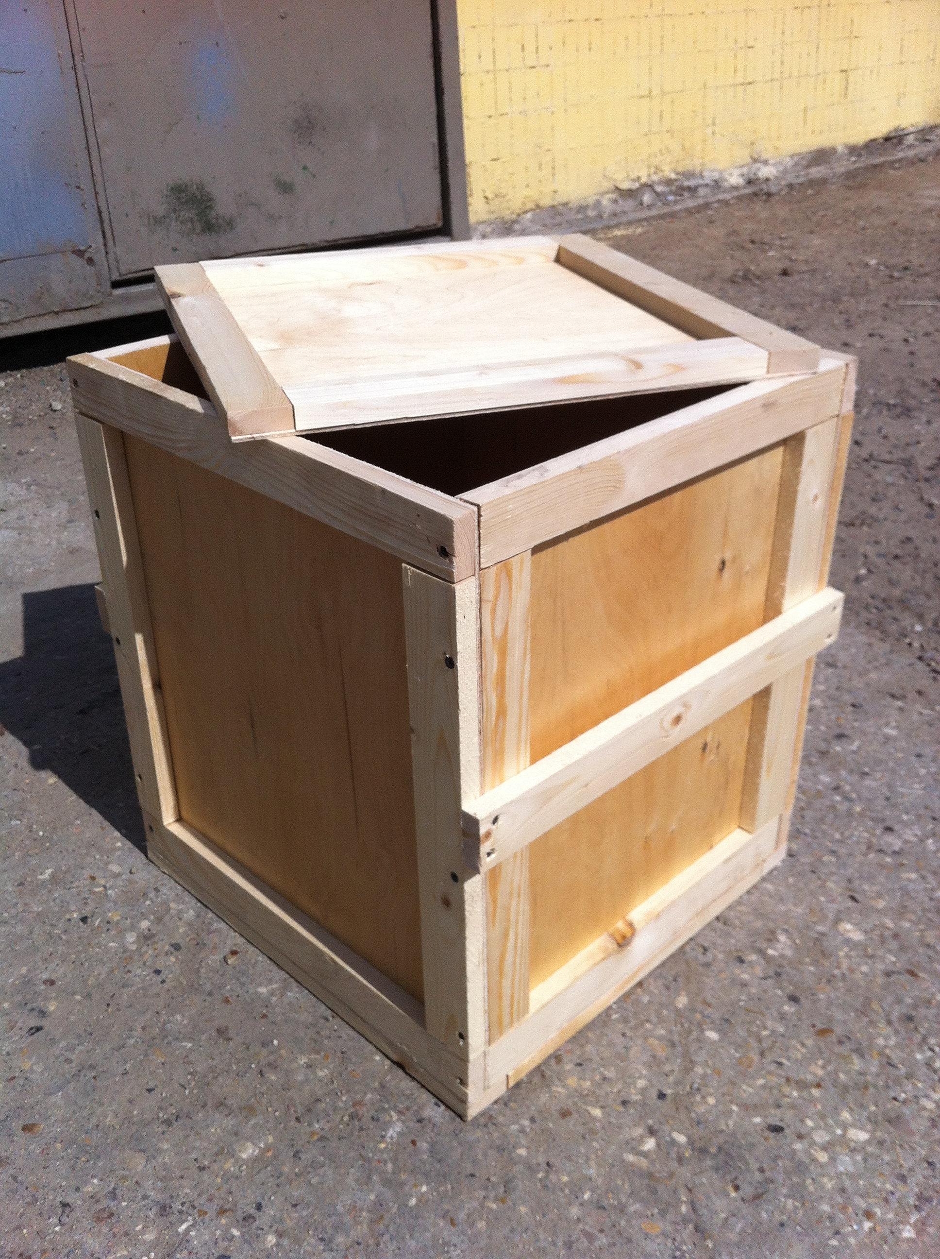 Как сделать ящик для золы