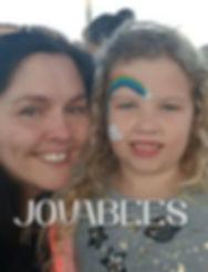 JOVABEES Face Painter & Model together