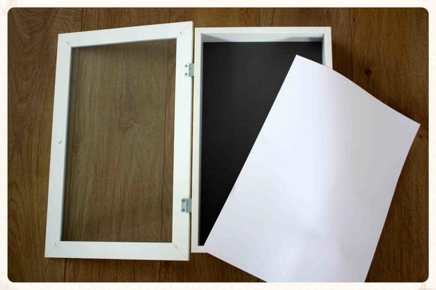 diy lightbox bei diesem ikea hack geht dir ein licht auf und poster freebies gibt 39 s obendrauf. Black Bedroom Furniture Sets. Home Design Ideas