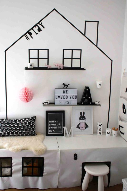 Ikea Stuva Hack Fürs Kinderzimmer | Ein Mal- Und Spielhaus Für Die ... Babyzimmer Ikea Stuva