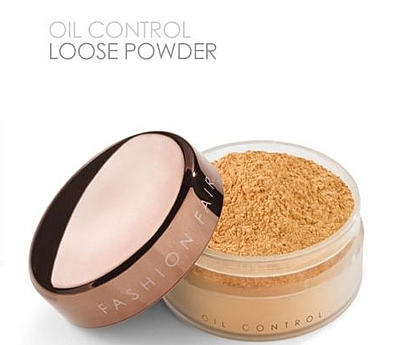 Fashion Fair Oil Control Loose Powder This oil free loose powder is