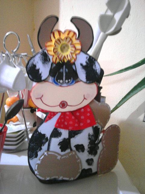 Encantador Decoración De Vaca Para La Cocina Viñeta - Ideas de ...