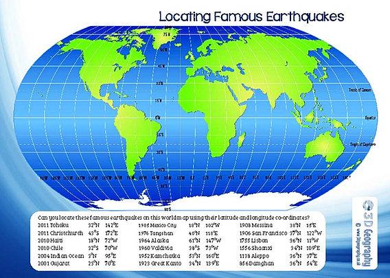 Free earthquake worksheets ks2