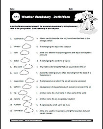 Worksheets Worksheets On Weather free weather worksheets for learning all about the kids worksheets