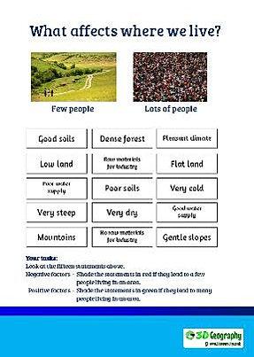 Worksheets Population Density Worksheet population worksheets this