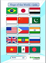 flag quiz | national flags quiz | flag worksheet | flags worksheets