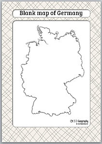 Image Result For Germany Map And Flag
