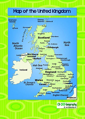 Maps of the uk uk map with major cities uk map for kids map of england for kids sciox Gallery