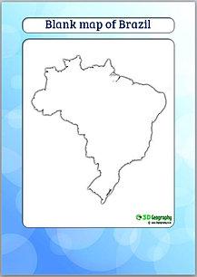Blank Maps Countries AJ - World map template ks2