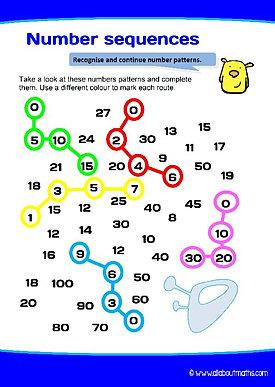 Year 3 maths worksheets