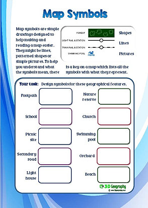 Printables Types Of Maps Worksheet map skills worksheets reading practice symbols worksheet