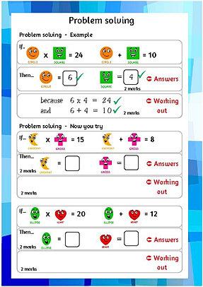 Year 4 maths worksheets