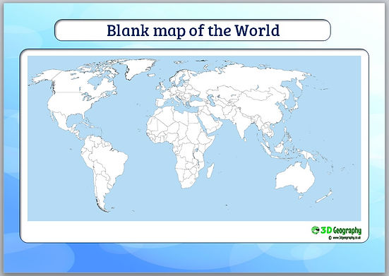 Map of the world ks2 blank map of the world ks2 blank blank maps gumiabroncs Choice Image