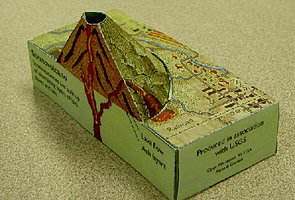 geography models - make a volcano