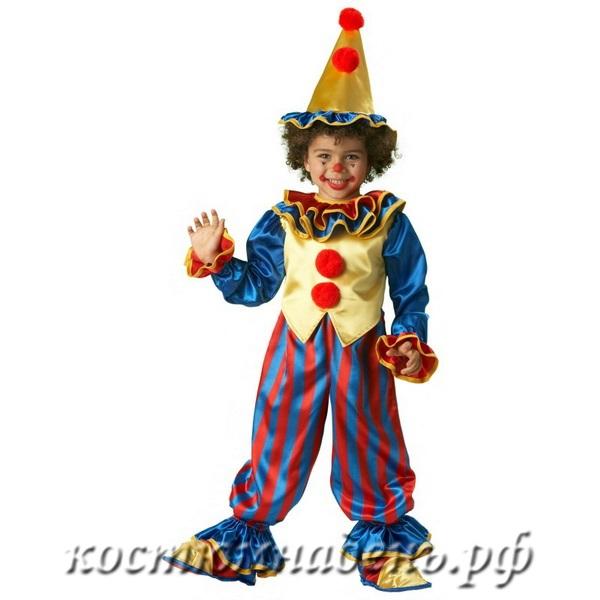 Новогодний костюм клоуна своими руками для мальчика фото
