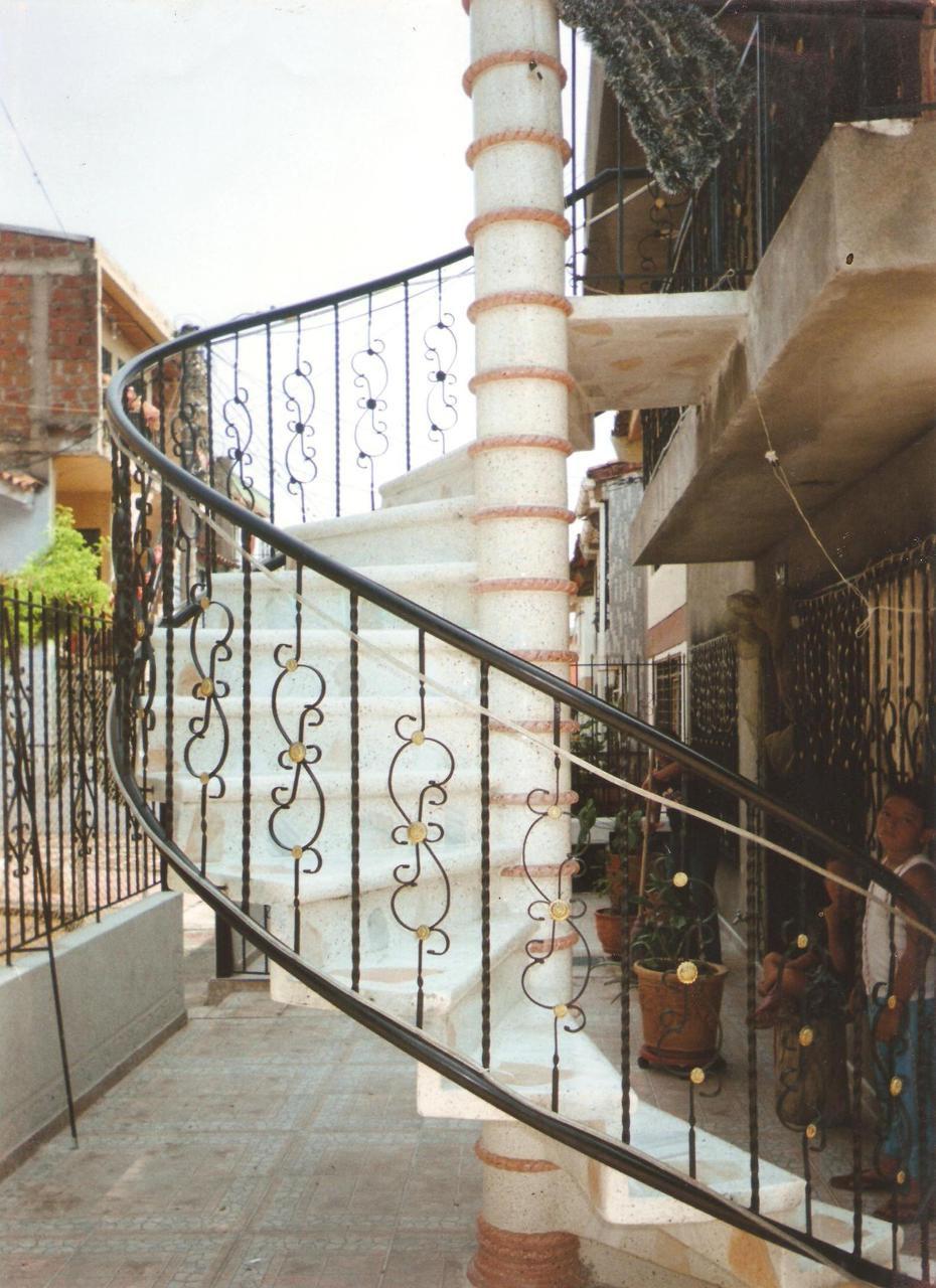 Fabiosamboni created by fabrigradas based on long - Pasamanos de hierro forjado para escaleras ...