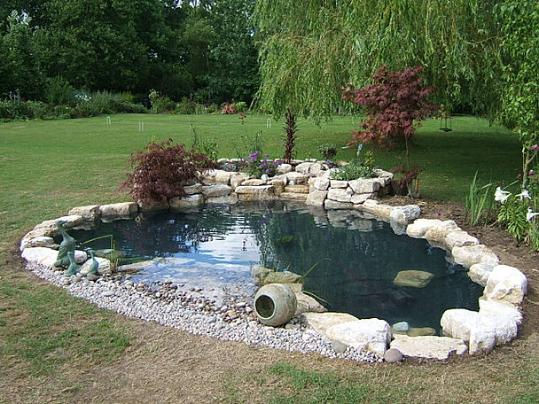 Pond maintenance horsham all about fish pond for Small round pond