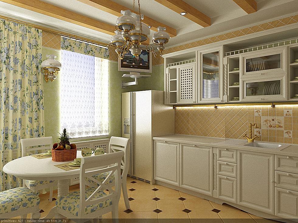 Кухни прованс дизайн интерьера