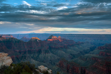 Grand Canyon North Rim Photograph