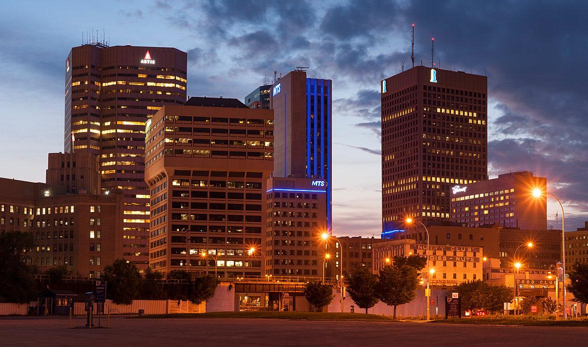 Winnipeg Night Photo
