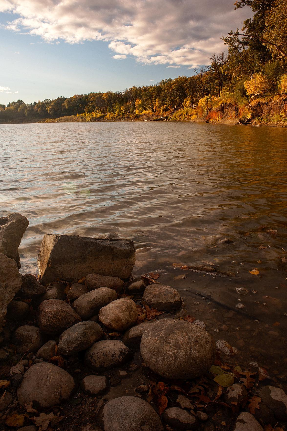 Red River Winnipeg Photograph