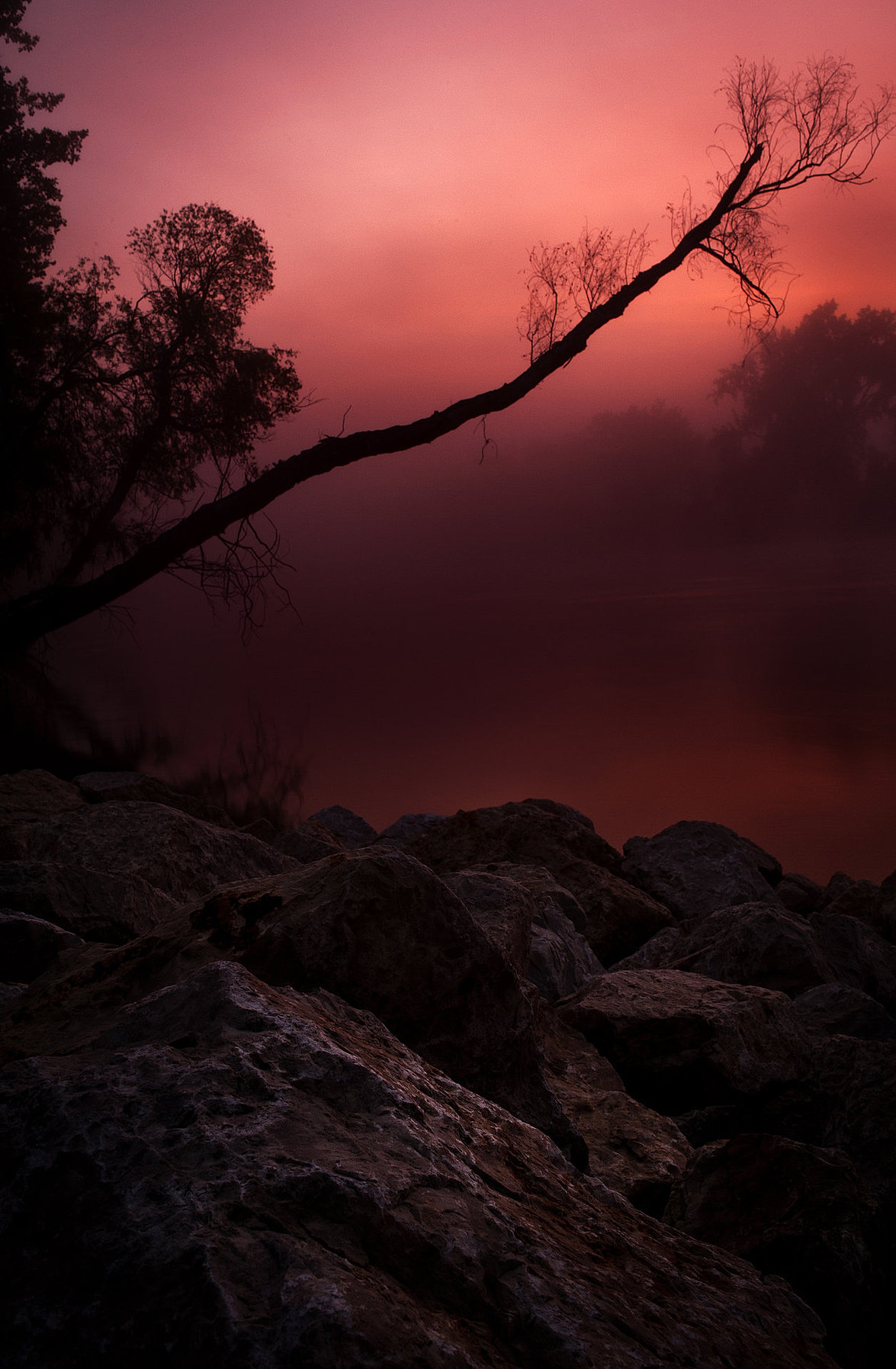 Assiniboine River Sunrise