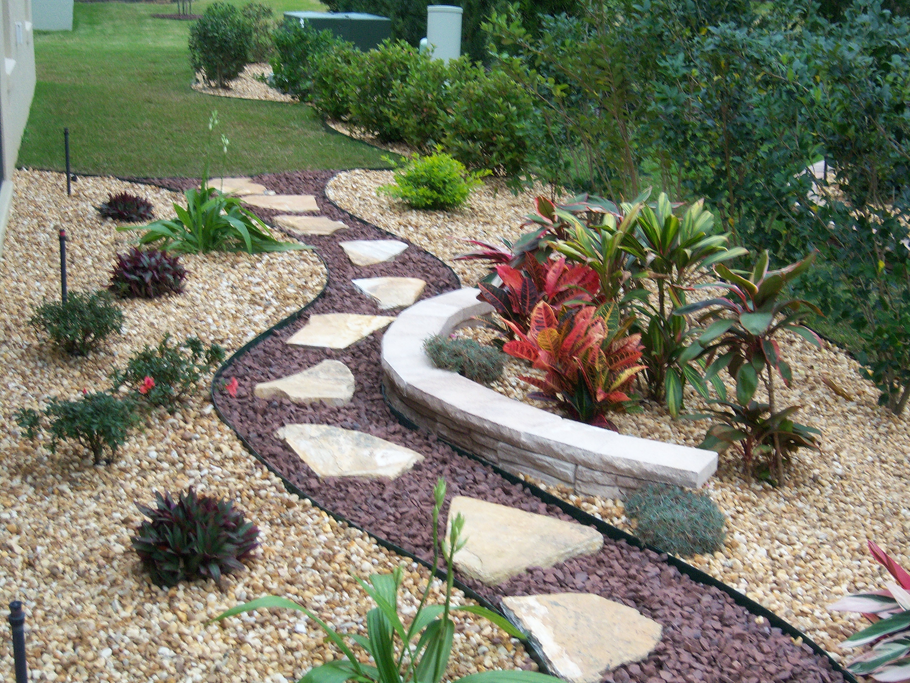 Creative outdoor design landscape contractor the villages for Creative landscape design