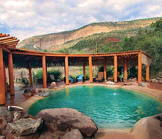 Contact Giggling Springs Hot Springs Jemez Springs New Mexico Geo