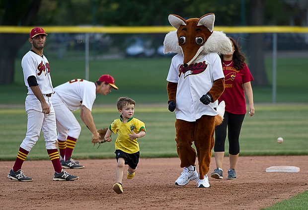 Fort Collins Foxes Benefit Game