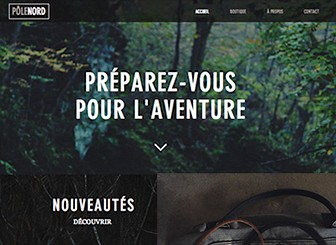 Outdoor Bags Template - Rugged and sleek with a bold layout, this eCommerce template is tailor-made for stores selling more than just products: they sell a lifestyle. And with Wix Stores, managing your inventory is easy! Upload images of your product , add descriptions and prices, and start selling.