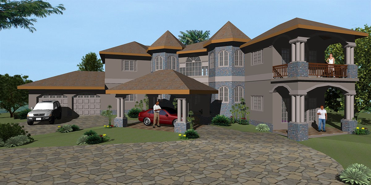 Building plans for homes in jamaica house plan 2017 for Jamaica house plans