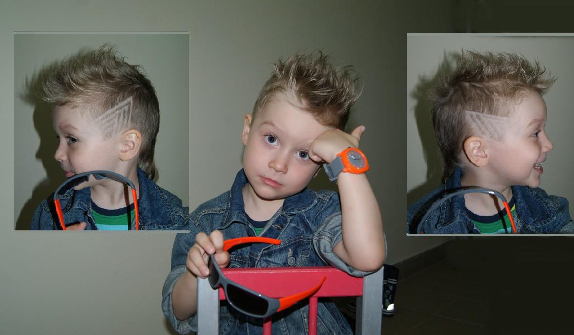Детская стрижка для мальчика своими руками