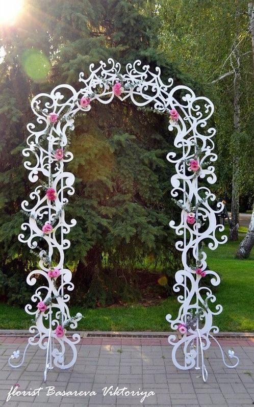 Резная арка своими руками на свадьбу