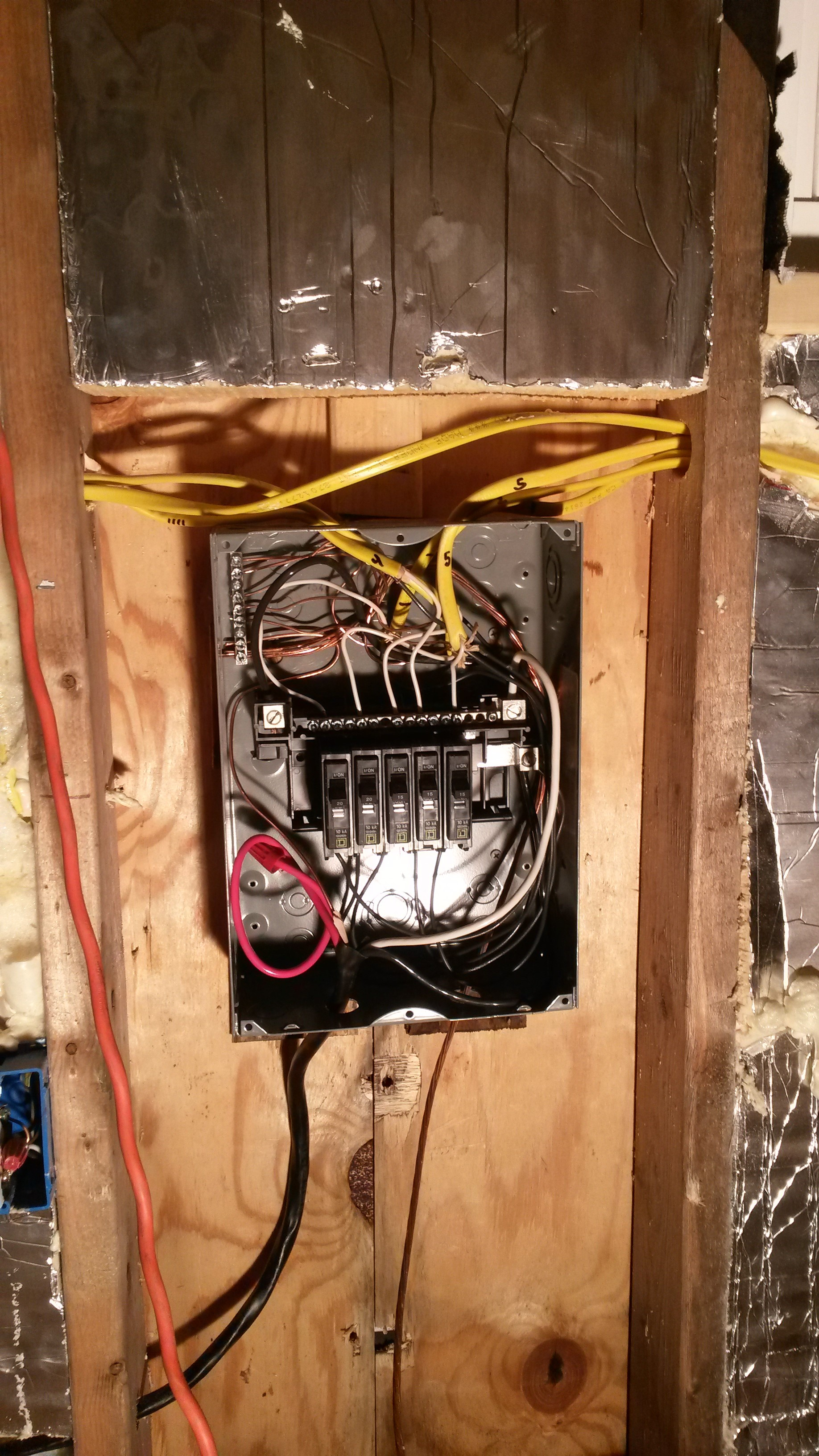 Wicked Tiny House Electrical System Overview Part 1 Home Wiring How To Extend An Circuit Breaker Box
