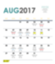 PPCH August 2017 Training Schedule