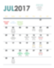 PPCH July 2017 Training Schedule