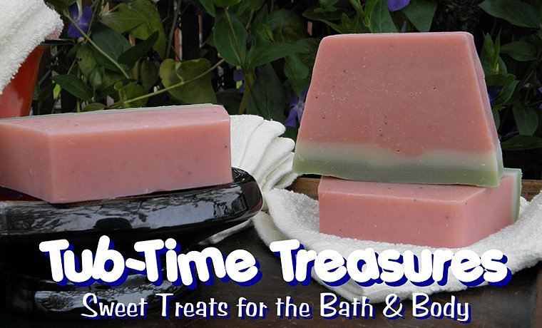 Tub-Time Treasures handcrafted soap