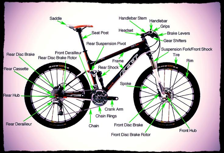 Solo Cycles Mobile Cycle Repairs Kent Bike Diagram