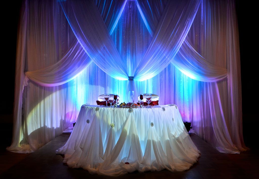 Celebrity event decor banquet hall jacksonville fl balloon wedding backdrop fabric drapin junglespirit Images