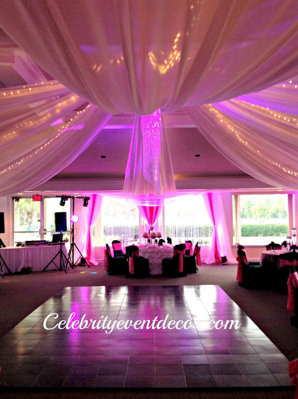 Celebrity event decor banquet hall jacksonville fl for 16 birthday decoration